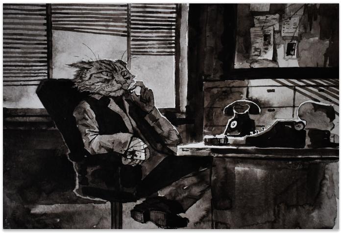 История одного кота (2 глава) Кот, Животные, Детектив, Читать, Заврин, Козел, Носорог, История, Длиннопост