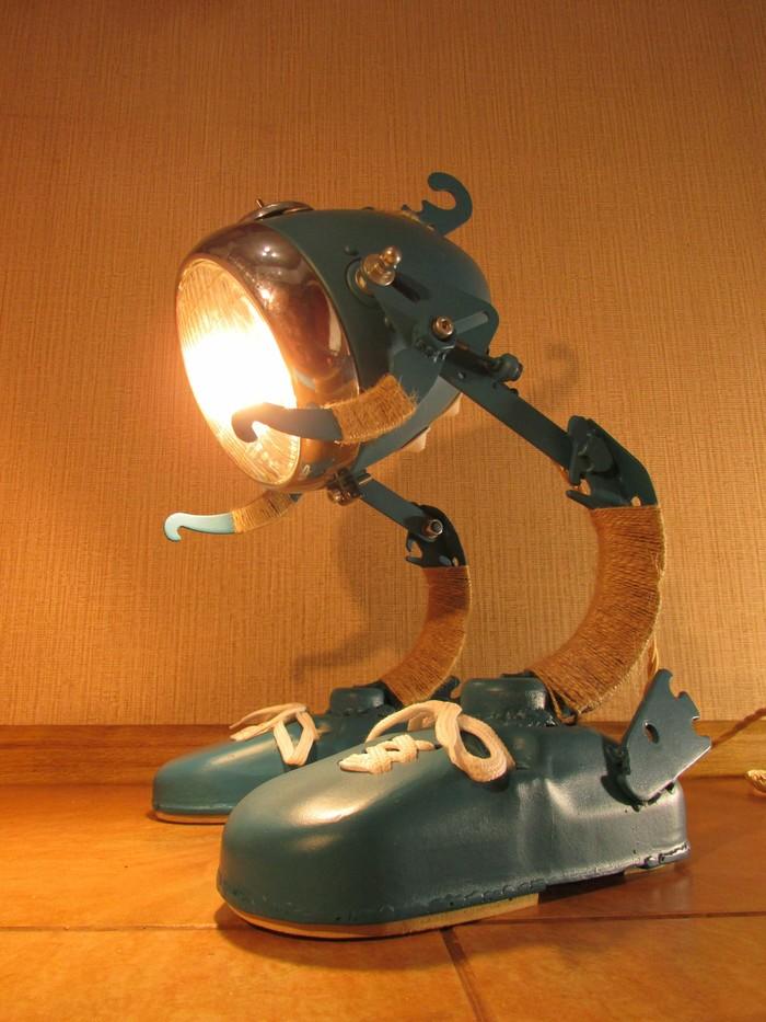 Даю металлолому вторую жизнь! Освещение, Лампа, Дизайн, Ручная работа, Эксклюзивные вещи, Светильник, Изделия из металла, Видео, Длиннопост