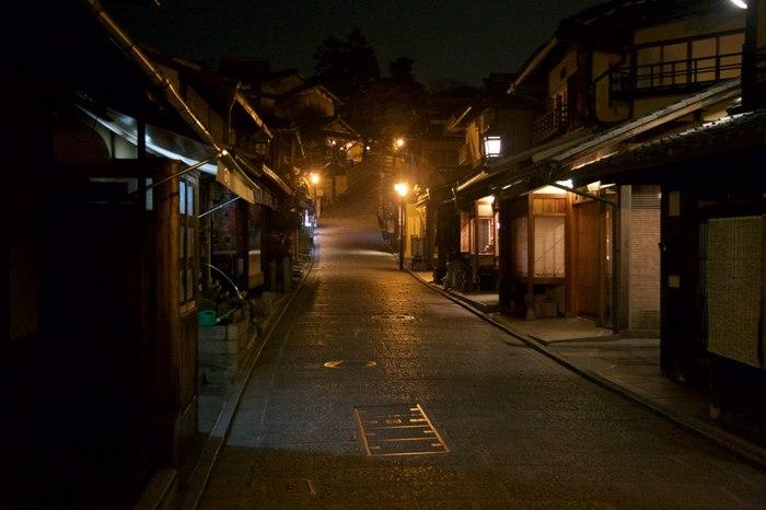 Ночные улицы Японии Япония, Улицы, Фотография, Длиннопост