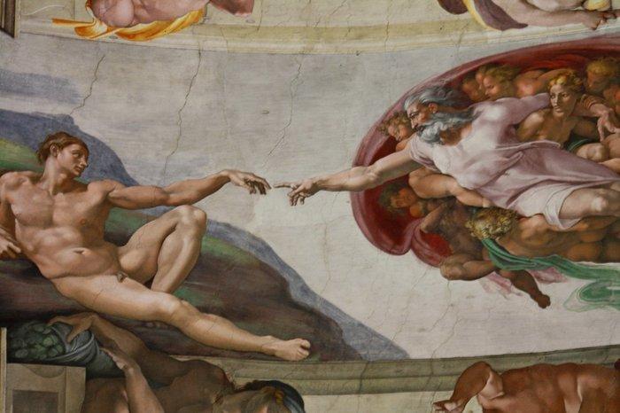 """""""Сотворение Адама"""" Дятел, Большой пестрый дятел, Сотворение Адама, Юмор"""