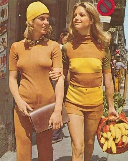 Модницы, 1970 год