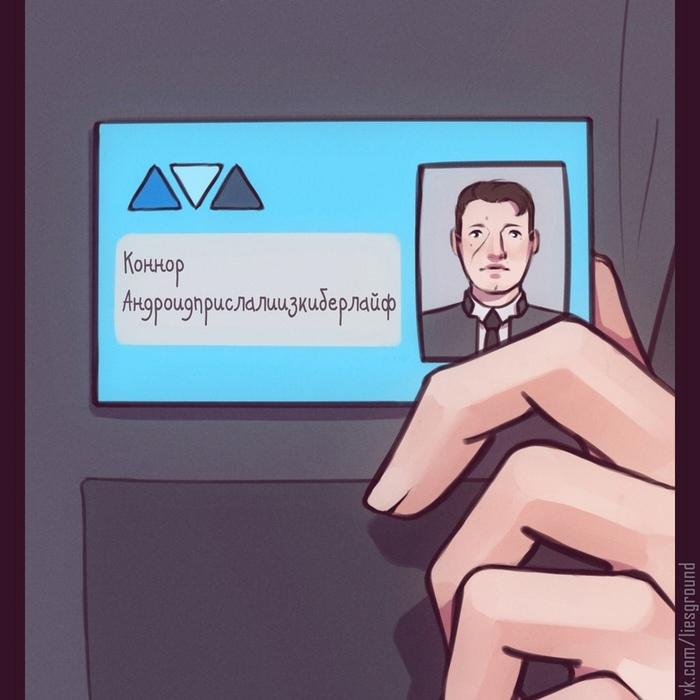 Андроиды Стронг Detroit: Become Human, Игры, Комиксы, Длиннопост
