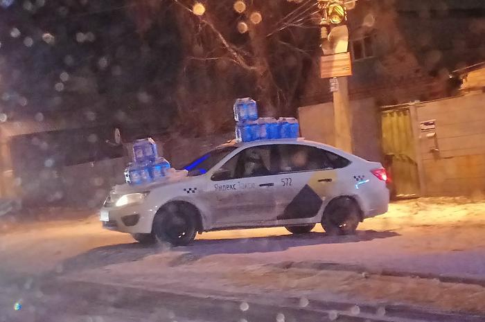 Яндекс-Незамерзайка Челябинск, Яндекс такси, Незамерзайка
