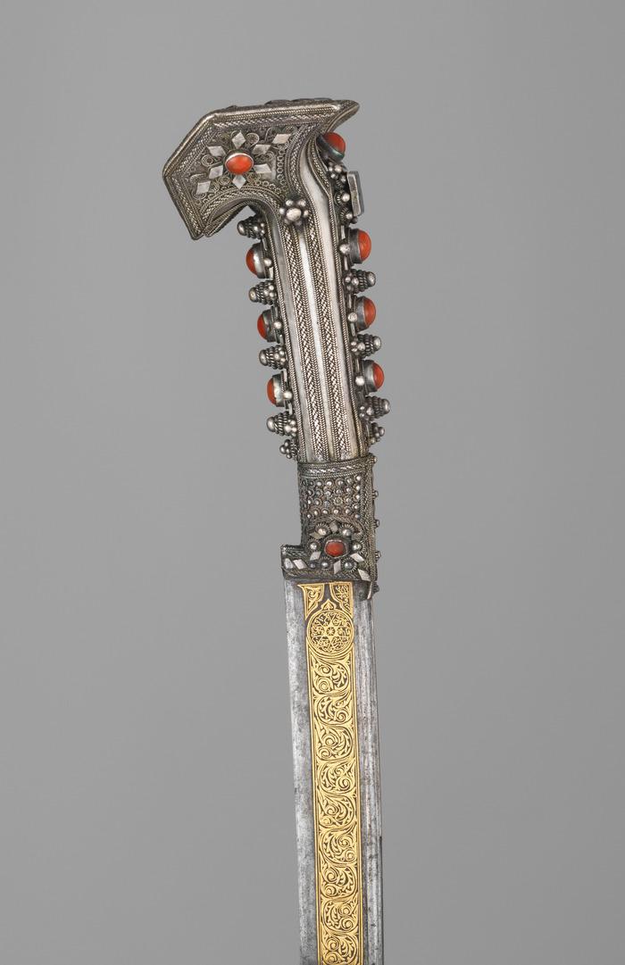 Ятаган 1822 год Ятаган, Янычары, 19 век, Холодное оружие, Длиннопост