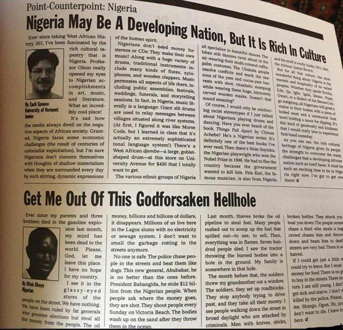Ожидания vs Реальность Журналисты, Нигерия, Картинка с текстом