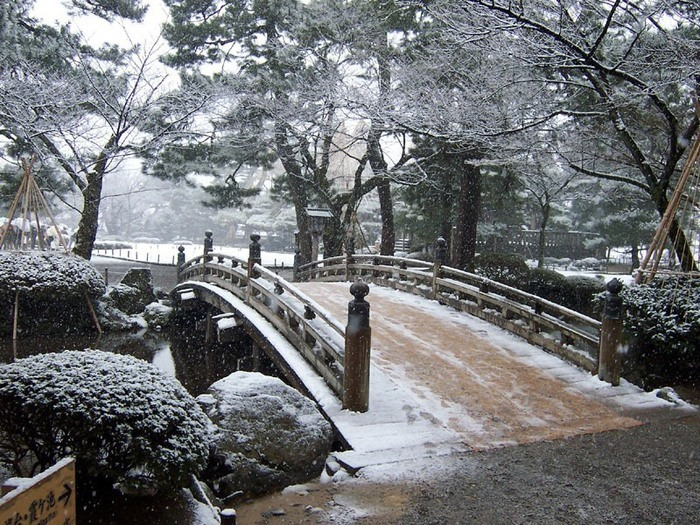 Зима в Японии Зима, Япония, Снег, Длиннопост