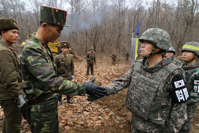 На границе двух Корей.