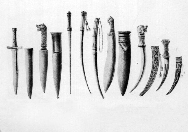 Ножи на Руси Нож, Холодное оружие, История, История оружия, Длиннопост