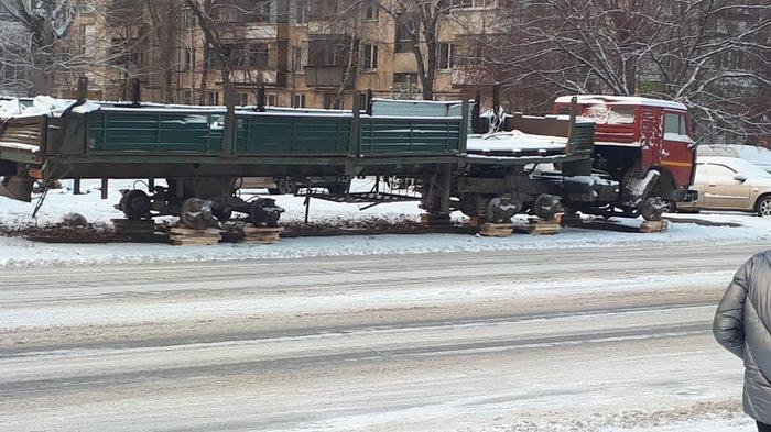 Кража колёс по Челябински.