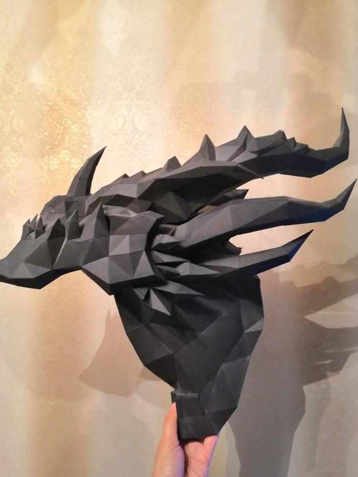 Смертокрыл papercraft Papercraft, World of Warcraft, Из бумаги, Своими руками, Поделки, Длиннопост, Смертокрыл