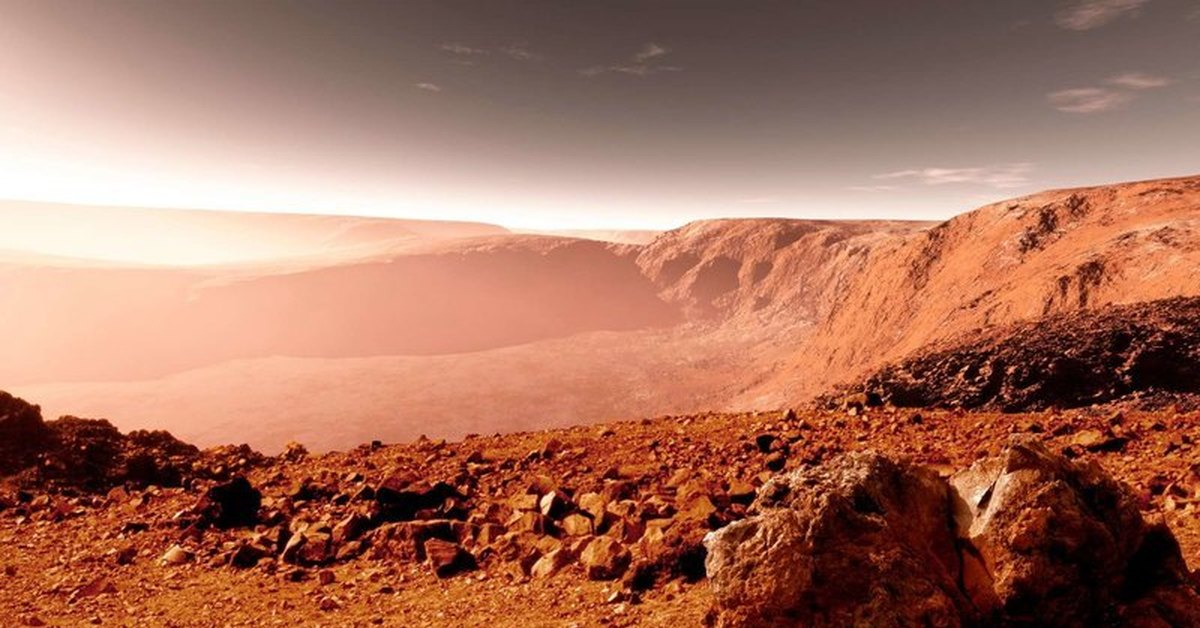 mars landscape background - HD 2000×1000