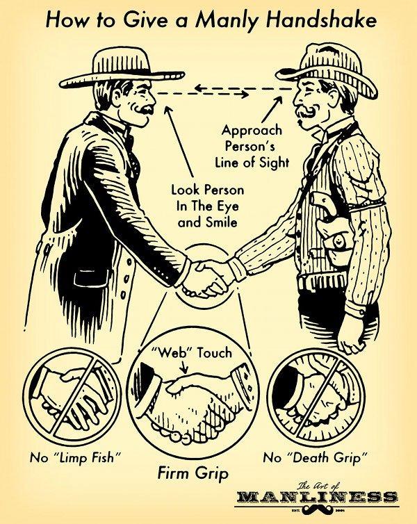 Сейчас будет про традицию всех нормальных мужиков щупать друг другу руки. Рукопожатие, Мужчина, Традиции, Длиннопост, Текст