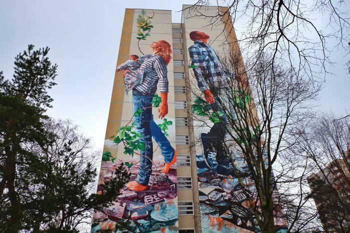 Наскальная живопись XXI века Стрит-Арт, Граффити, Длиннопост
