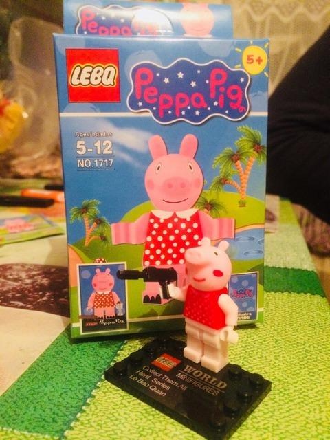 Стой! Или свинка Пеппа будет стрелять. Свинка пеппа, Игрушки, Ожидание и реальность, Странности, Длиннопост, Мат