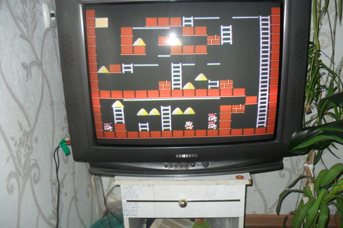 Lode Runner (Золотоискатели) Собственные произведение уровней на Денди Part 2 Игры, Логика, Dendy, Золотоискатели, LodeRunner, Редактор, Творчество, Игра детства, Длиннопост
