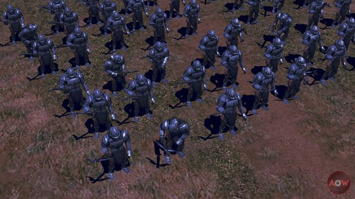 Уруки-арбалетчики - BFME2: Ashes of War Ashes of War, Bfme modding, Tlhotta, Моды, Стратегия, Компьютерная графика, Изенгард, Урук-Хай, Длиннопост