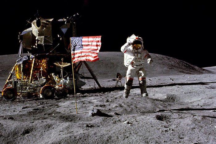 Китайский супертелескоп не нашёл на Луне следов американской экспедиции Космос, Астрономия, Китай, NASA, Апполон, Луна