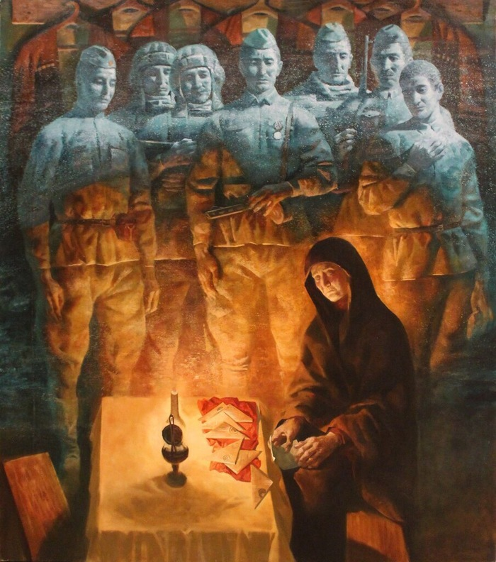 Вадим Филиппович Каджаев (р. 1984) Живопись, Война, Длиннопост