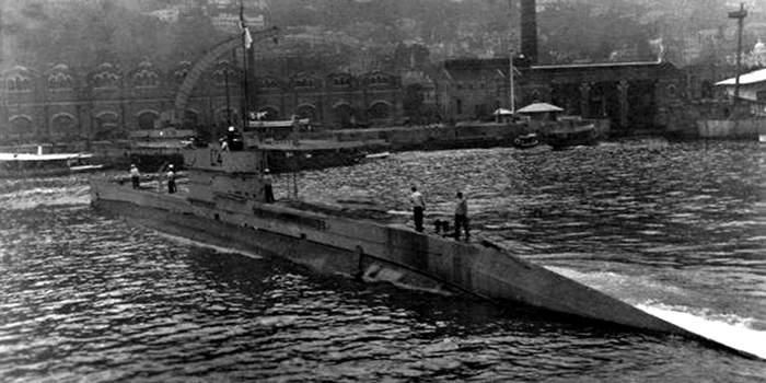 Британская подлодка против китайских пиратов Пиратство, Китай, Происшествие, Военные корабли, История, Субмарина, Длиннопост