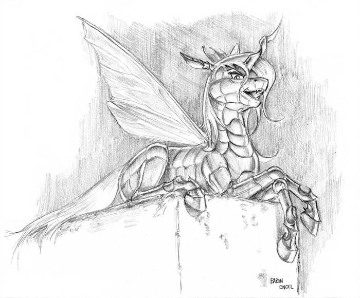 You have potential My Little Pony, Queen Chrysalis, Baron Engel