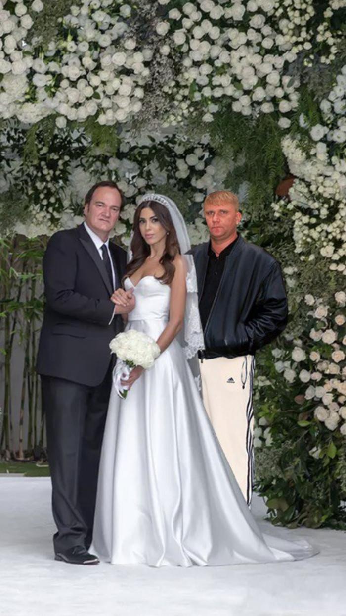 Квентин Тарантино наконец-то женился. Квентин Тарантино, Фейк
