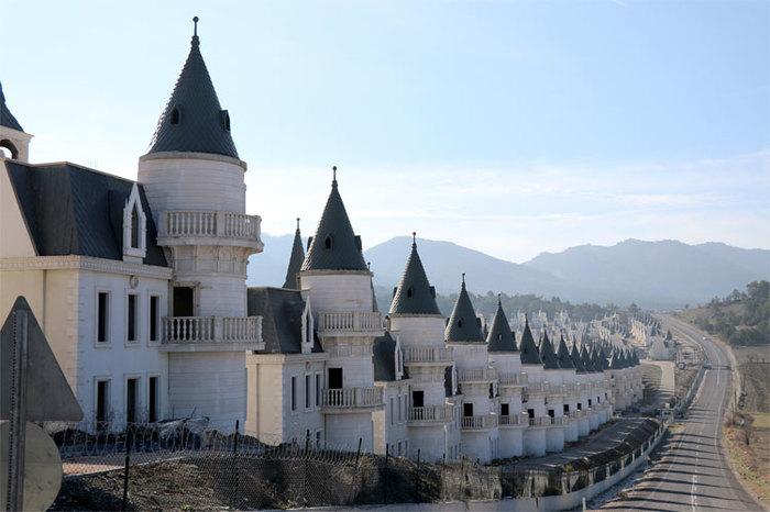 Турецкая мечта Архитектура, Турция, Строительство, Жилье, Зачем так жить, Видео, Длиннопост