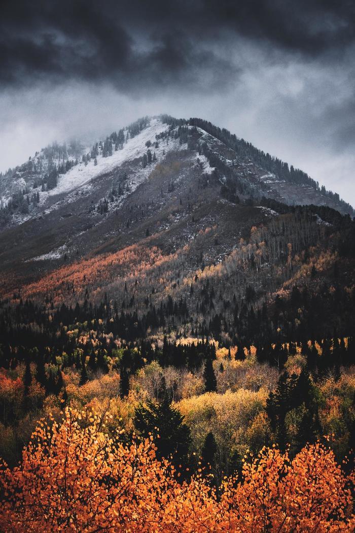 Осень в Юте