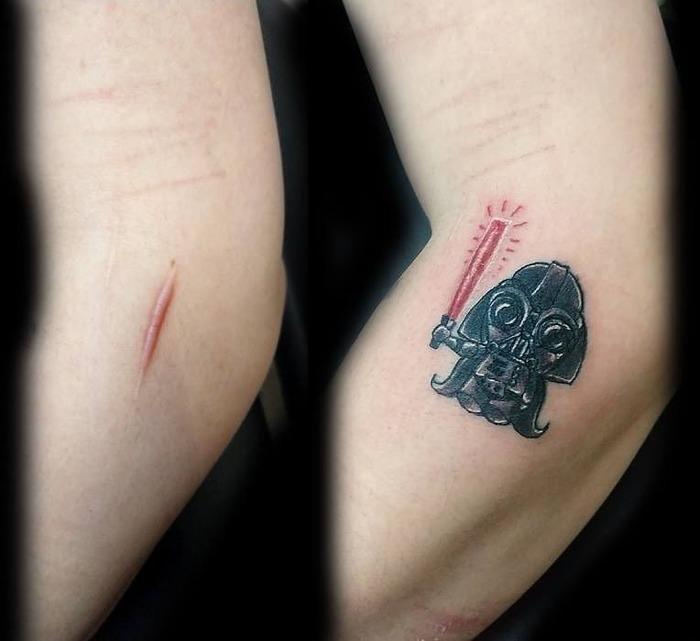 20 человек и 20 татуировок которые им помогли Тату, Шрам, Мастер, Изюминка, Длиннопост