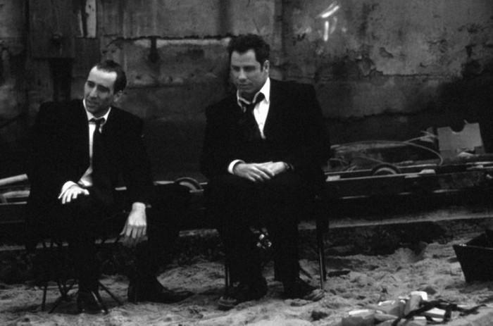 Фотографии со съемок фильма Без лица 1997 год Джон Траволта, Николас Кейдж, Джон Ву, Без лица, Фильмы, Интересное, Длиннопост, Знаменитости, Фото со съемок
