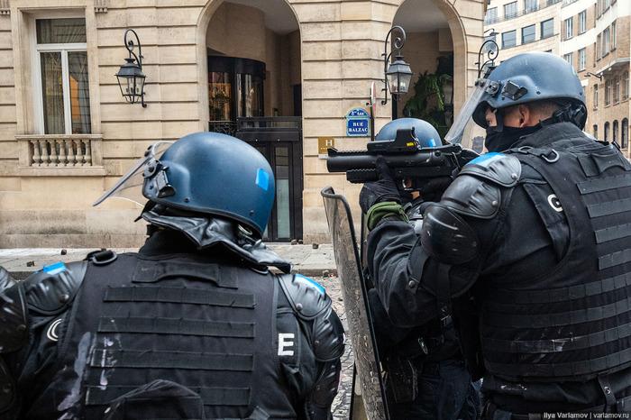 Погромы в Париже Франция, Протест, Длиннопост
