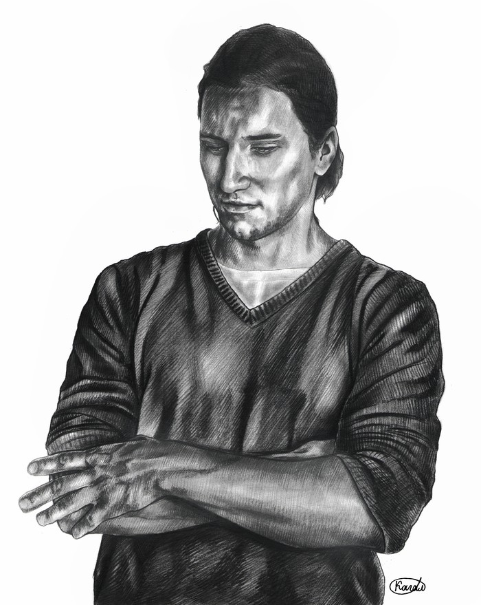 Зарисовки формат А4 Арт, Рисунок, Графика, Длиннопост, Портрет, Ростислав Колпаков, Артист