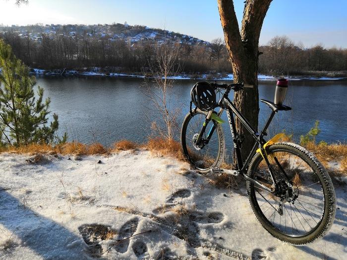 Зима, река, велосипед.... Велосипед, Ridetheway, Lovetheride, Зима, Кросс-Кантри, Кантрилы, Длиннопост