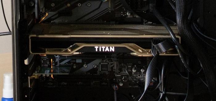Флагманская видеокарта Nvidia RTX Titan засветилась на живых фото и видео. Скоро анонс? Nvidia RTX, RTX Titan, Turing, Длиннопост