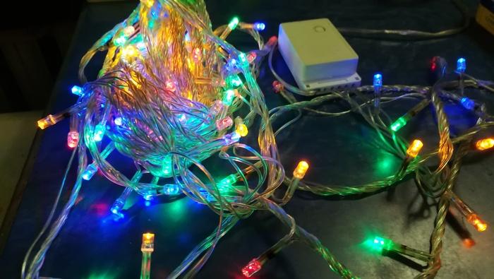 Обратный ток китайских светодиодов Новогодняя гирлянда, Светодиоды, Ток