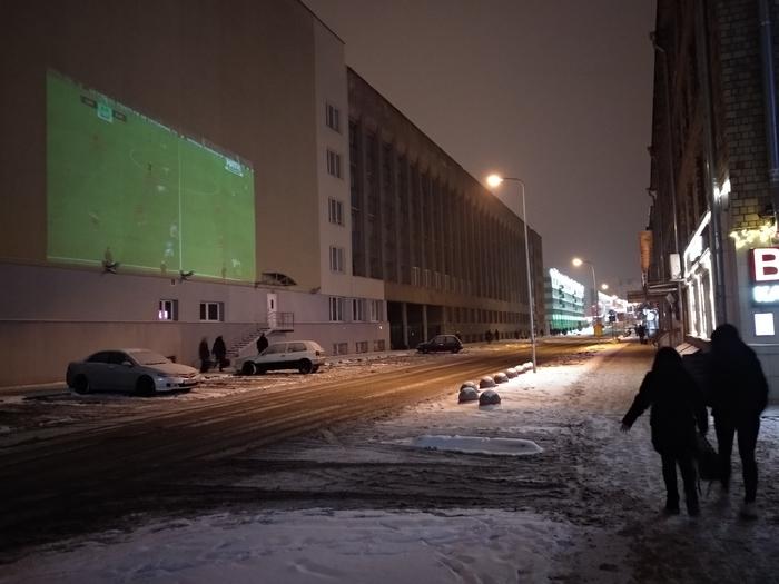 Футбол на Минских улицах Футбол, Минск, БНТУ, Проектор, Бар