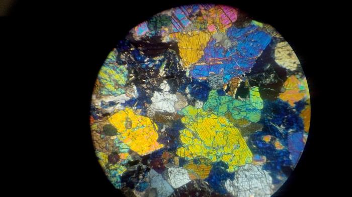 Немного с оптического микроскопа Геология, Минералогия, Петрография, Микроскоп, Минералы, Длиннопост