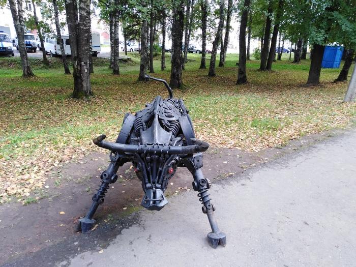 Бык. г. Кириллов Вологодская область. Вологодская область, Бык