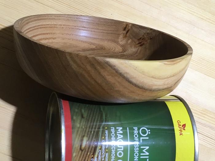Чашка из вяза Чашка, Работа с деревом, Посуда, Длиннопост