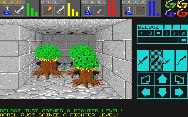 Dungeon Master. Часть 1. 1987, Atari ST, Компьютерные игры, Ретро-Игры, RPG, История игр, Длиннопост