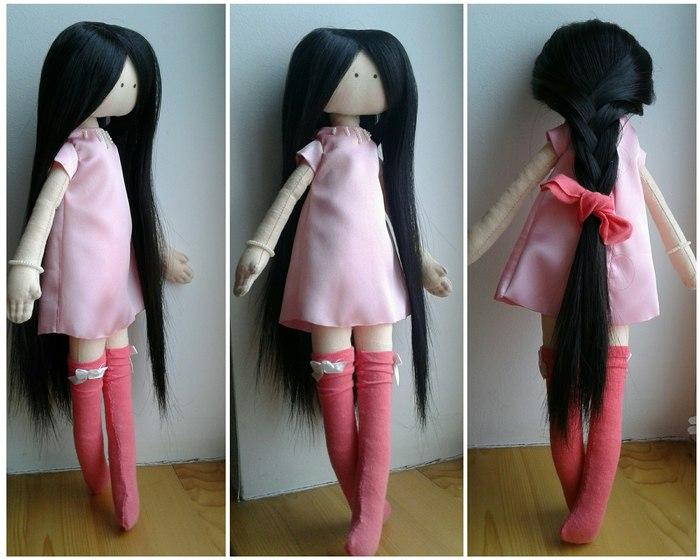 Текстильная куколка Кукла, Шитье, Ручная работа, Хобби, Рукоделие без процесса, Длиннопост