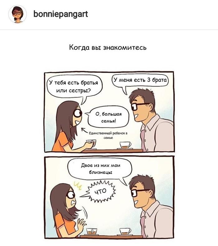 Близнецы Bonniepangart, Комиксы, Длиннопост