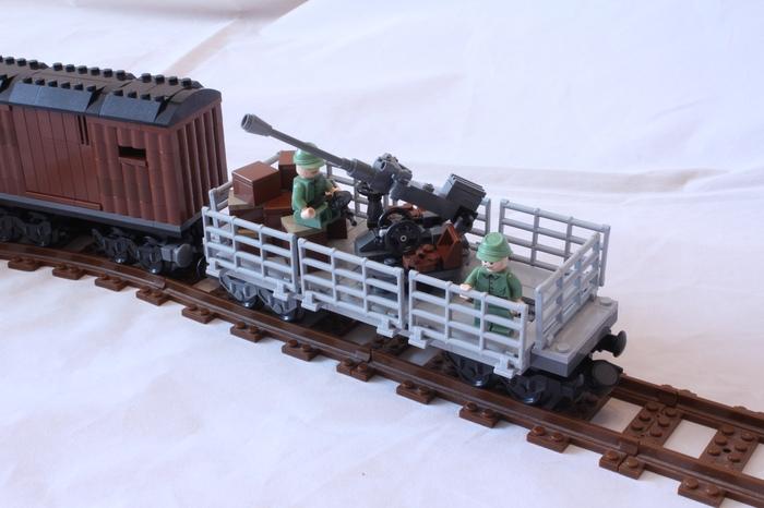 Поезд LEGO по 2 мировой LEGO, Вторая мировая война