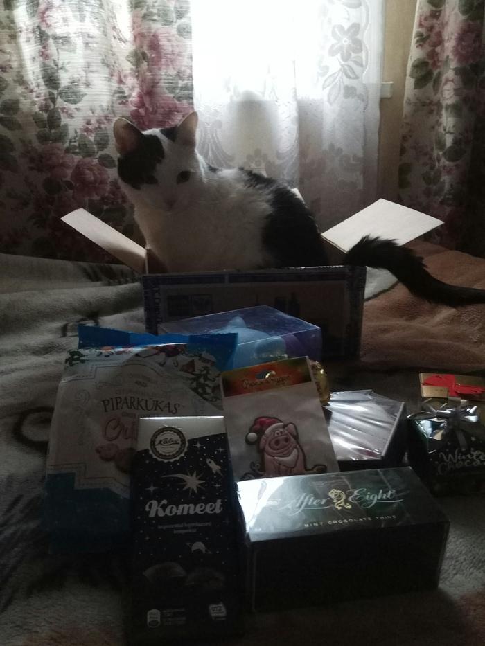 Мой анонимный Дед Мороз Новый год, Тайный Санта, Обмен подарками, Длиннопост, Отчет по обмену подарками