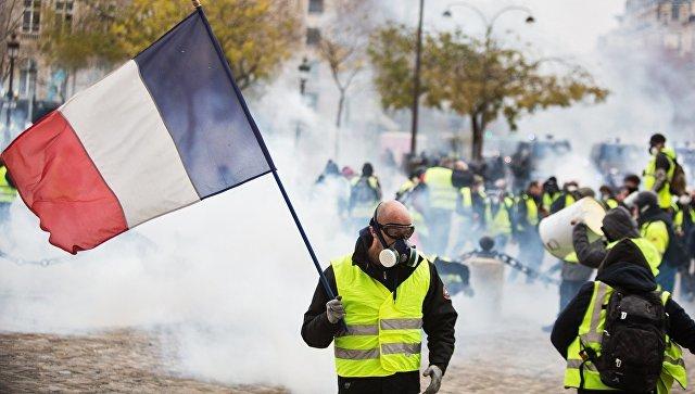 """До победного!""""Желтые жилеты"""" отвергли предложенные французским премьером меры! Франция, Бензин, Протест, Беспорядки, Новости, Политика, Картинка с текстом, Париж"""