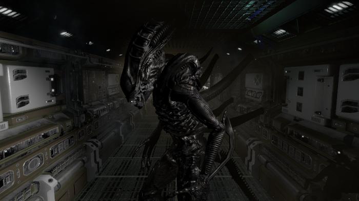 Alien Hope For The Future Первый тестовый показ Чужого Alien Hope for The Future, Unity3d, Ксеноморф, Чужой, Длиннопост
