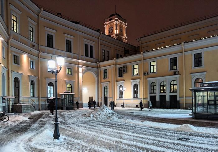 Зима на Московском вокзале