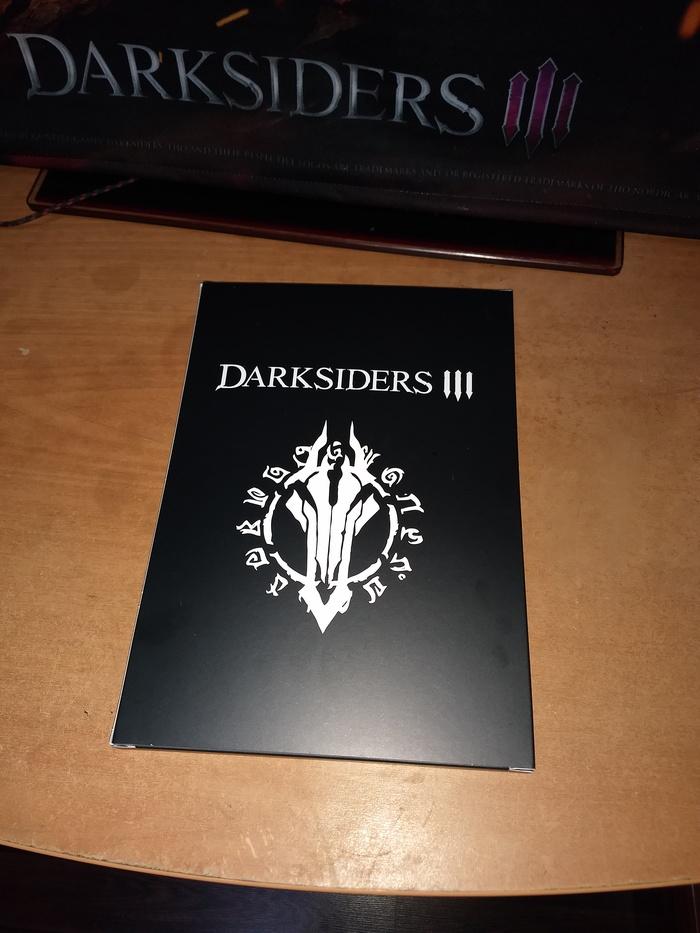 Распаковка Darksiders 3 Apocalypse Edition. Часть 2 Darksiders, Darksiders 3, Распаковка, Длиннопост, Коллекционное издание