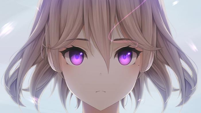 Anime Art Аниме, Anime Art, Anime Original, Глаза