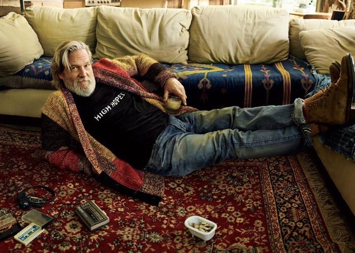 Джефф Бриджес и ковёр, который задаёт тон всей комнате! Большой Лебовски, Джефф Бриджес, Ковер, Где деньги
