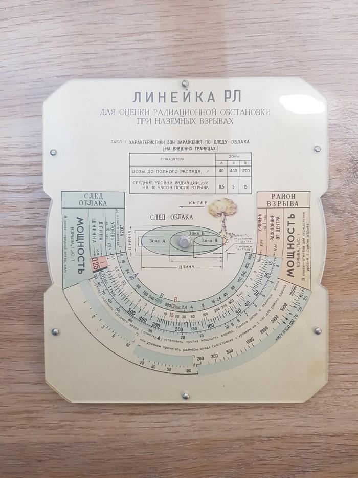 Линейка РЛ Раритет, Ядерный взрыв, Длиннопост, Линейка